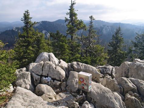 Samarske stijene – vrh