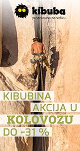 Kibuba - pustolovina na vidiku
