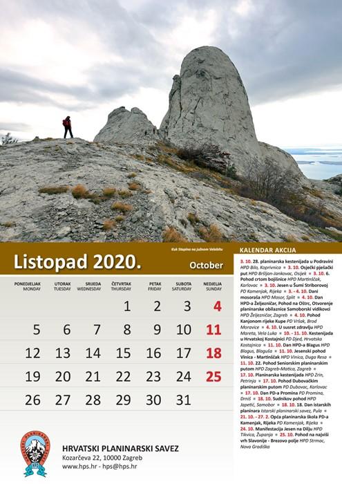 Web mjesto za kalendar