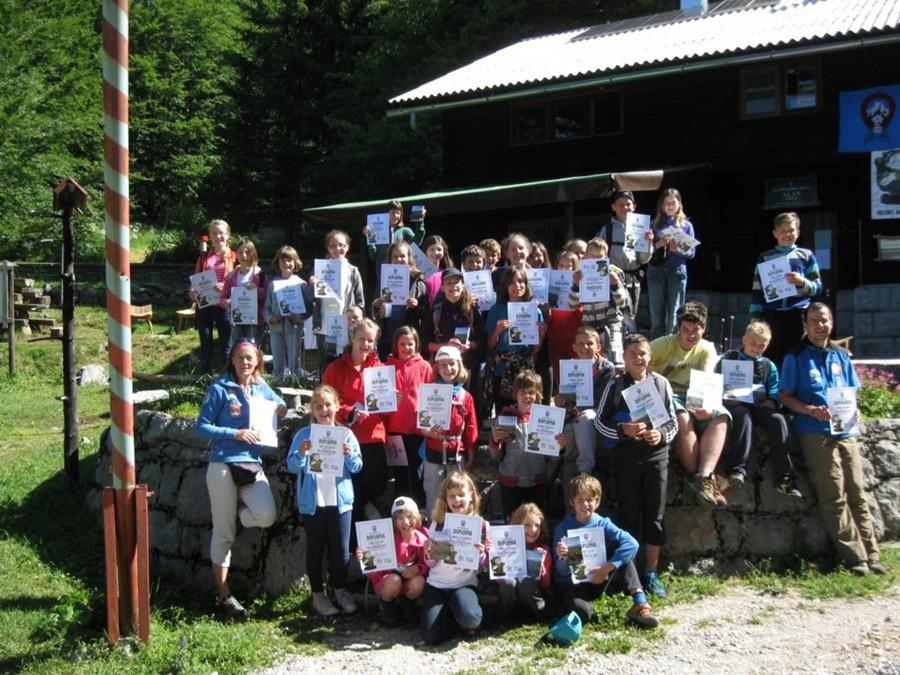 Mala planinarska škola 2014